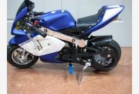 Mini Moto BLU - BIANCO OPACO