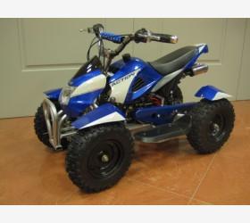 Mini Quad 50 cc con Avviamento Elettrico BLU