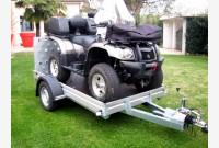 PT Trasporto quad con rampa posteriore