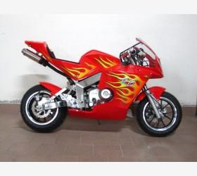 Mini Moto Rossa a marce semiautomatica