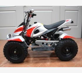 Mini Quad 50cc con Avviamento Elettrico ROSSO