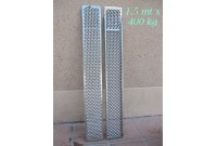 Rampe in Alluminio dritte 1.5 mt - 400 kg