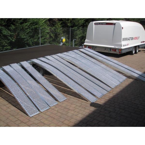 Rampe in alluminio usate for Rampe carico alluminio