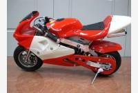 Mini moto BIANCO-ROSSO