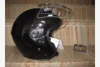 Casco Demi-Jet - Nero Metallizzato -