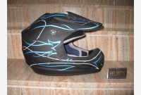 Casco Cross - Nero Opaco -